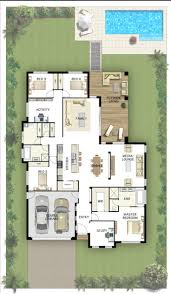 Rest House Design Floor Plan by Best 25 5 Bedroom House Plans Ideas Only On Pinterest 4 Bedroom