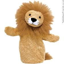 lion puppet fluppet luke lion gund teddy friends