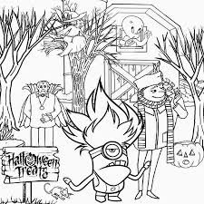 Printable Scary Halloween Coloring Pages by Free Halloween Coloring Pages Crayola Coloring Page