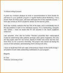School No Letter Of Recommendation 13 Grad School Recommendation Letter Format Invoice Template