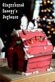 snoopy dog house christmas happy new year with a gingerbread snoopy s doghouse denna s ideas