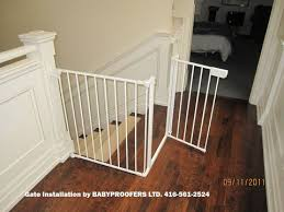Baby Gate For Banister Stairs 26 Best Baby Proofing Images On Pinterest Stairs Stair Gate And
