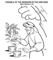 seed falling good soil parable sower coloring