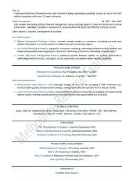 accounting resume templates resume