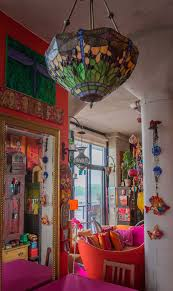 tour an actor u0027s color explosion in 650 square feet square feet