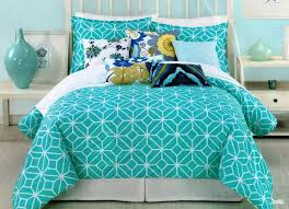 green teen bedding set