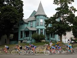 victorian house in waukesha wisconsin during superweek cycling