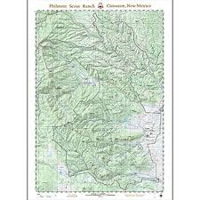 philmont scout ranch map philmont overall folded wall map