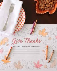What Do We Give Thanks For On Thanksgiving Thanksgiving Martha Stewart