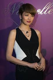 hongkong short hair style gigi leung photos photos cartier naturellement exhibit held in