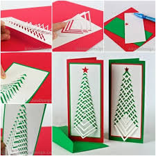 make a christmas card how to make simple christmas cards how to