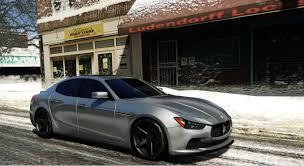 modded cars engine maserati ghibli s engine sound swap gta5 mods com