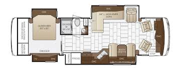 ventana floor plan options newmar