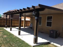 patio metal roofing materials