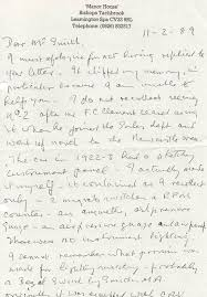 wally hassan letters vintage bentley blog
