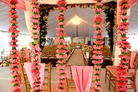 Indian Wedding Flowers Garlands Elegant And Royal Indian Wedding At The Washington Duke Inn