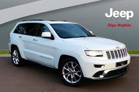 jeep summit price used jeep grand cherokee summit 2017 cars for sale motors co uk