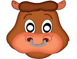 printable bull mask 64 free kids face masks templates for halloween to print