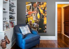 lebron james 2016 nba finals block mural wall decal shop fathead lebron james 2016 nba finals block fathead wall mural