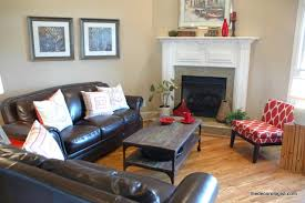 how to decorate living room with fireplace orient furniture w the angles of the corner fireplace don t just