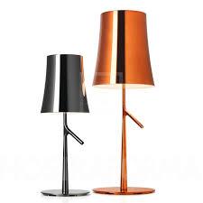 foscarini birdie metal piccola table lamp modern and