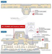 American Airlines Floor Plan Jal Jal Opens Jal Lounge With American Airlines At Narita