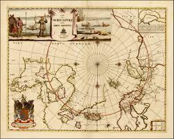 North Pole Map Vetus Carta Rare Maps Ottawa Vrbppshow