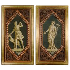 featured item french wallpaper panels with greek gods o