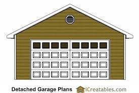 22x22 2 Car 2 Door Detached Garage Plans by 22x24 2 Car 1 Door Detached Garage Plans 28 Images 20x20
