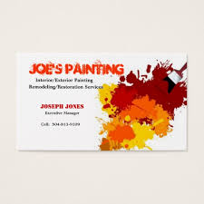 Zazzle Business Card Template Painting Business Card Sample Ii Business Card Zazzle Com