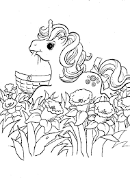 pony coloring pages pony coloring pages 011
