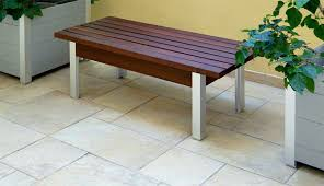 Designer Wooden Benches Outdoor by Garden Bench Deepstream Designs
