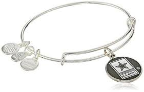 army jewelry alex and ani armed forces us army expandable silver