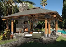 Outdoor Room Designs Outdoor Living Plans Custom Outdoor Spaces - Backyard bungalow designs