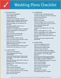 wedding plans wedding coordinator checklist planning complete imagine thumb