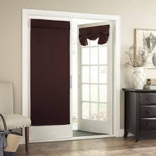 french door window coverings tricia door panel walmart com