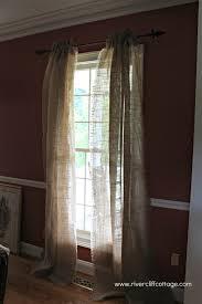 Window Treatment For Dining Room Burlap Window Treatments U2013 Or Not
