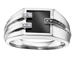 men rings prices images Brilliant gold jewellery men 39 s ring 10k white gold onyx and jpg