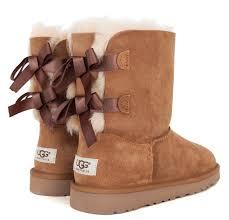 ugg s boots chestnut ugg bailey bow boot grade dtlr com