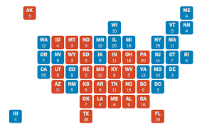 Nytimes Election Map by Donald Trump Has A Totally Plausible Path To 270 Electoral Votes