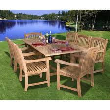 Best Get The Basic Idea In Having Teak Outdoor Furniture Images - Teak dining room chairs canada