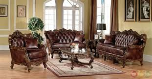 lilly traditional dark wood formal living room sets with vendome traditional brown 4pc formal living room set sofa woodland