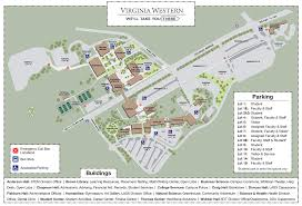 Maps Of West Virginia by Virginia Western Community College Campus Map Virginia Map