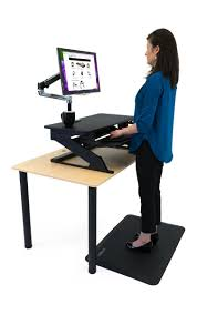 Stand Up Desk Conversion Kit by Imovr Ziplift Standing Desk Converter