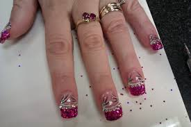 acrylic nails with diamonds u2013 slybury com