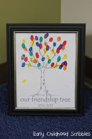 make a friendship tree using your student u0027s fingerprints great