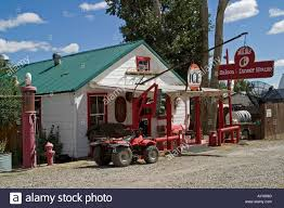 local old world small town restaurant diner midas nevada usa