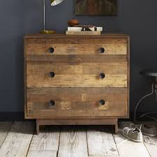 Buy Bedroom Dresser Emmerson Reclaimed Wood 3 Drawer Dresser West Elm