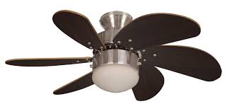eurofans atlanta 30 brushed nickel ceiling fan light 114390