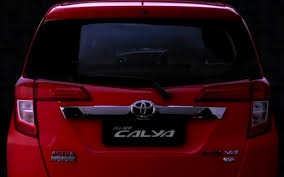 cars made by toyota toyota calya fancy designs with the most spacious cabin in
